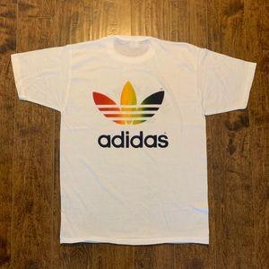 Vintage 80s Adidas Adicolor Single Stitch Shirt